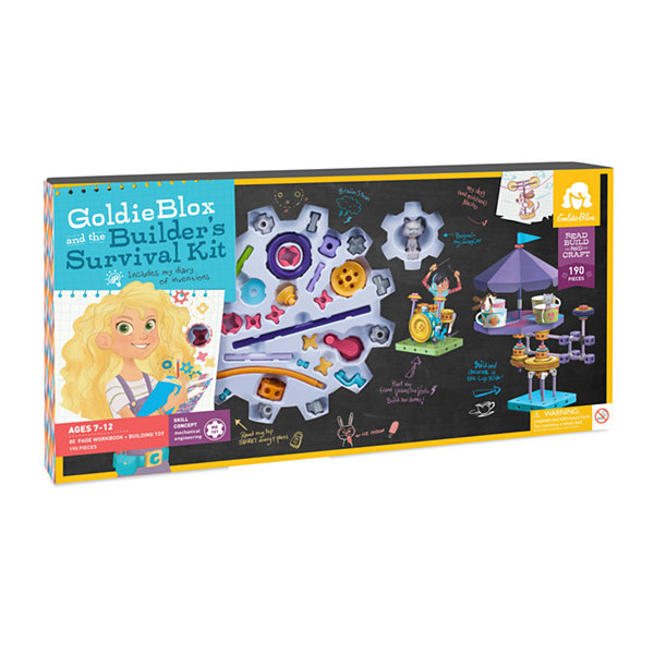 GoldieBlox the Builder's Survival Kit