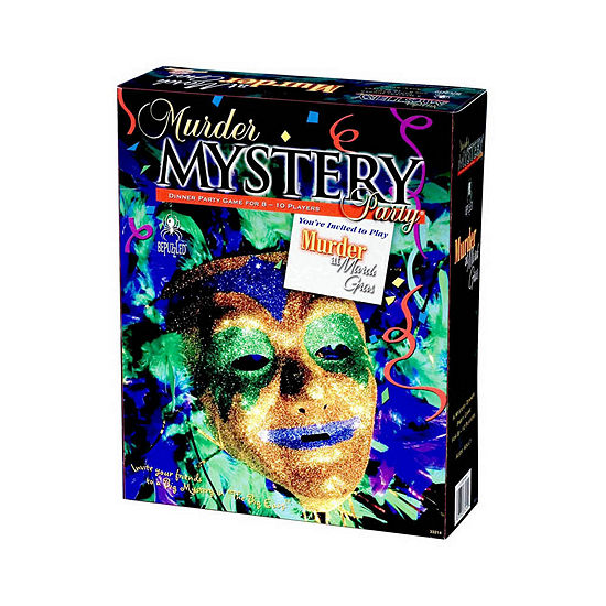 University Games Murder Mystery Party - Murder At Mardi Gras