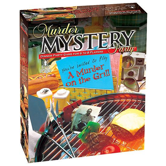 BePuzzled Murder on the Grill: Murder Mystery Party