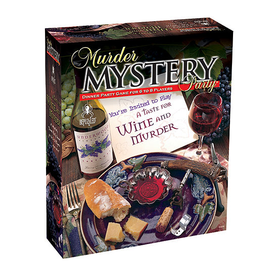 BePuzzled A Taste for Wine and Murder: Murder Mystery Party