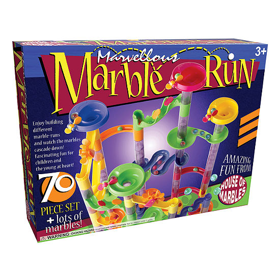 House Of Marbles Marvellous Marble Run - 70 Piece Set