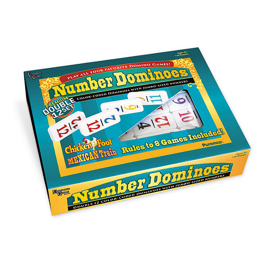 Puremco Number Dominoes - Premium Double 12 Set