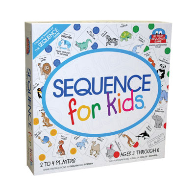 Jax Ltd. Sequence For Kids Game