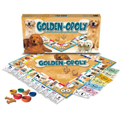 Late For The Sky Golden Retriever-opoly