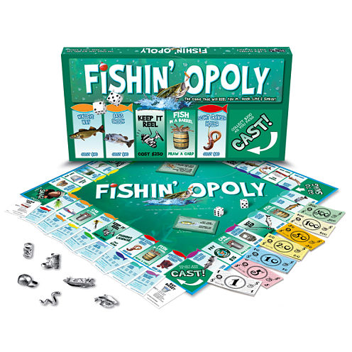Late For The Sky Fishin'-opoly