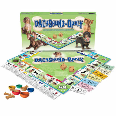 Late For The Sky Dachshund-opoly