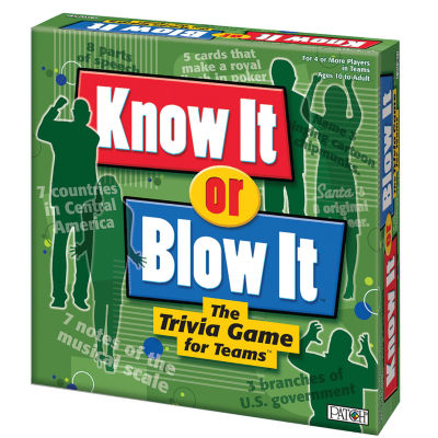 PlayMonster Know It or Blow It