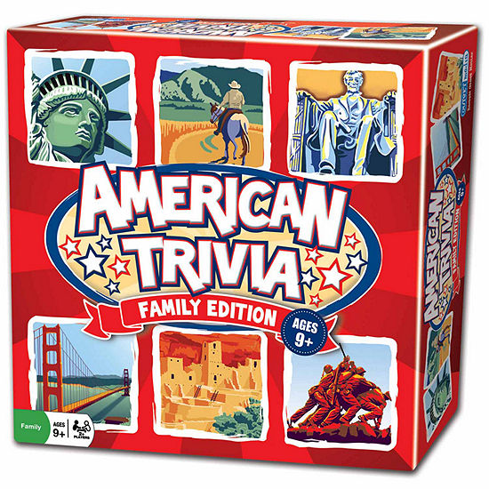 Outset Media American Trivia Family Edition