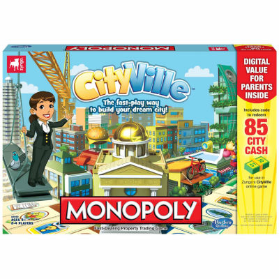 Hasbro CityVille - Monopoly Game