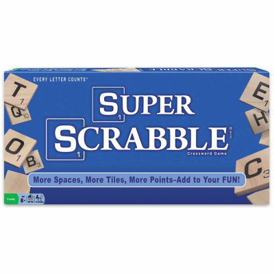 Winning Moves Super Scrabble Crossword Game