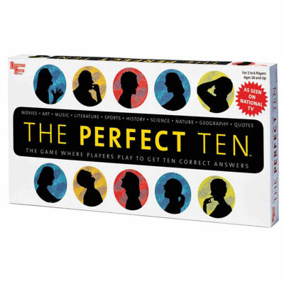 University Games The Perfect Ten Game