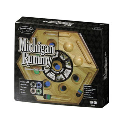 Front Porch Classics Michigan Rummy - Tournament Style Edition