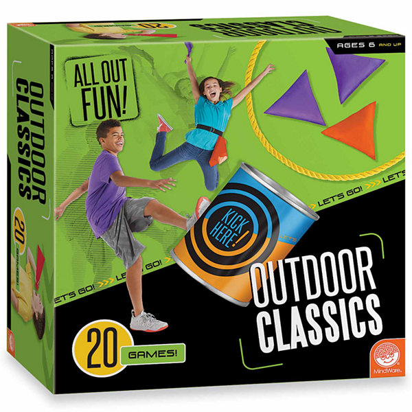 MindWare All Out Fun! Outdoor Classics - 20 Games