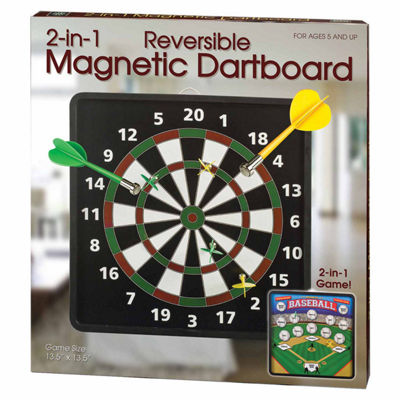 Westminster Inc. 2-in-1 Reversible Magnetic Dartboard