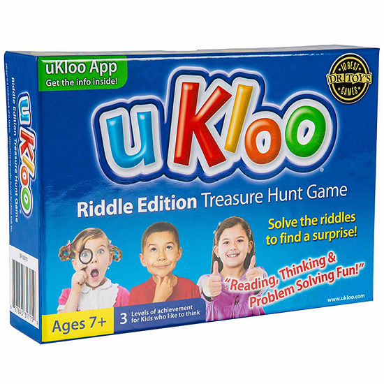 Ukloo Kids Inc. Ukloo Riddle Edition Treasure Hunt Game