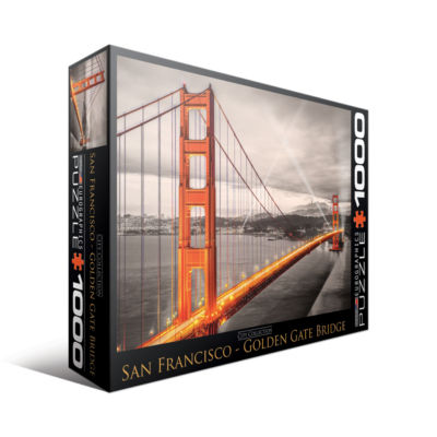 Eurographics Inc City Collection - San Francisco -Golden Gate Bridge: 1000 Pcs