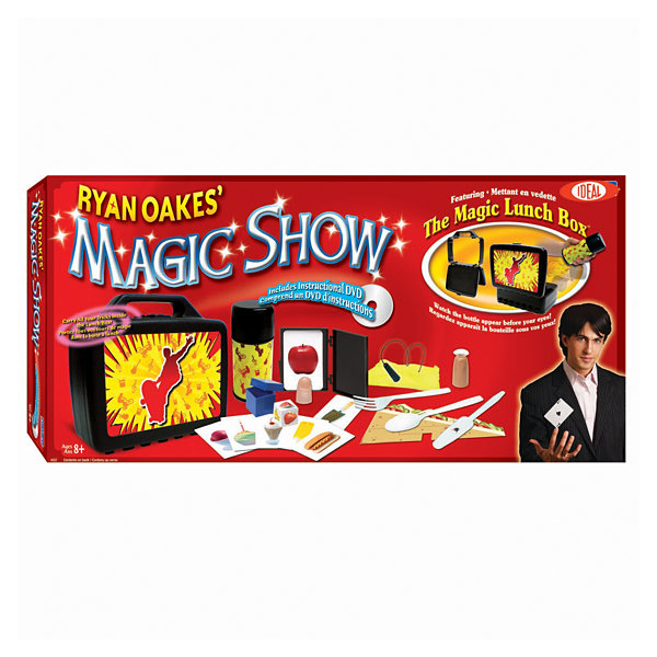 Cadaco Ryan Oakes' Magic Lunch Box Set with DVD
