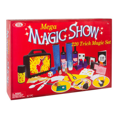 Ideal Mega 220 Trick Magic Show Set