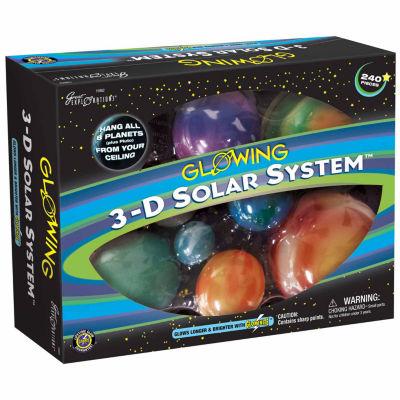 Great Explorations Glowing 3-D Solar System