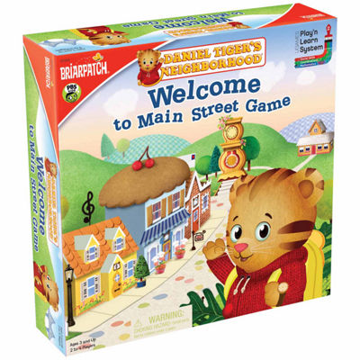 Briarpatch Daniel Tiger's Neighborhood Welcome toMain Street Game