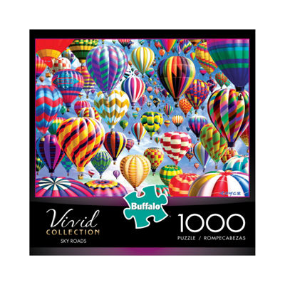 Buffalo Games Vivid Collection - Sky Roads: 1000 Pcs