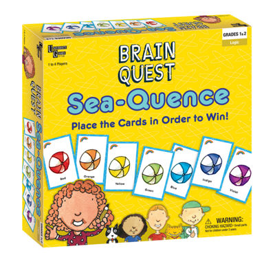 University Games Brain Quest - Sea-Quence