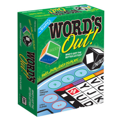 Jax Ltd. Word's Out! Game