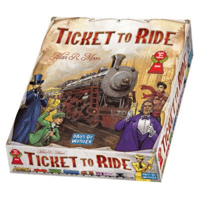 Days of Wonder Ticket to Ride Game