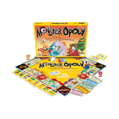 Late For The Sky Monster-opoly