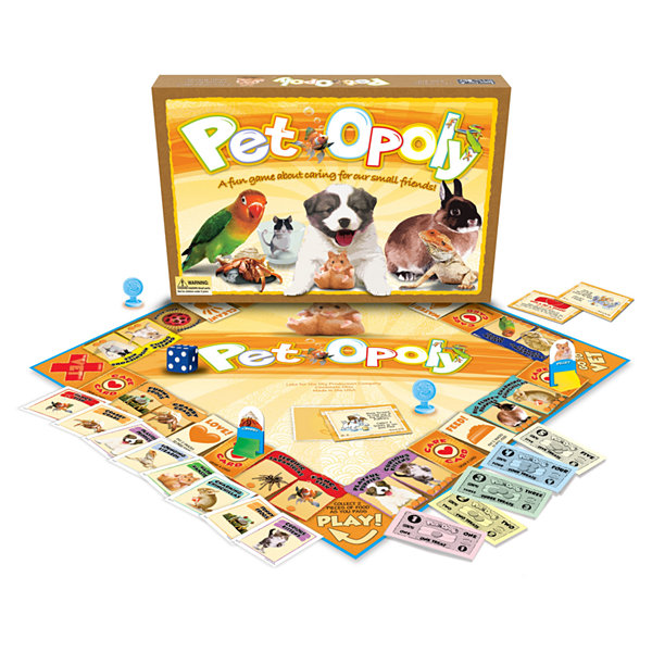 Late For The Sky Pet-opoly Game
