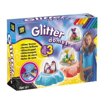 Glitter Domes Kids Craft Kit