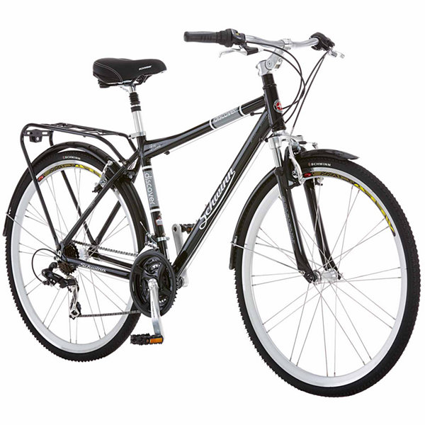 Schwinn Discover 700c Mens Cross-Commuter Hybrid Bike