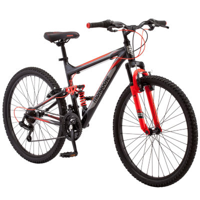 "Mongoose Status 2.2 26"" Mens Full Suspension Mountain Bike"