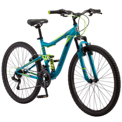 "Mongoose Status 2.2 26"" Womens Full Suspension Mountain Bike"