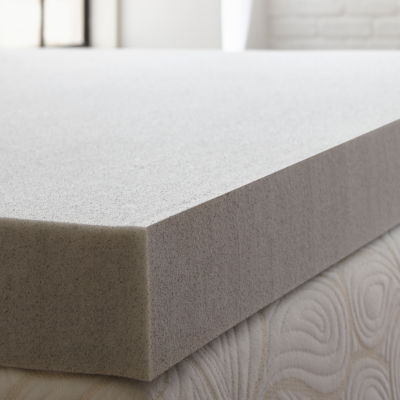 "PuraSleep 4"" Carbon Tech Gel Cooled Memory Foam Mattress Topper"