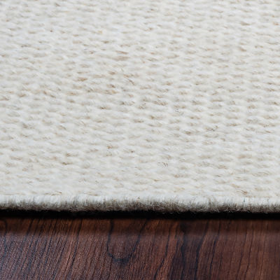 Rizzy Home Twist Solid Rectangular Rugs