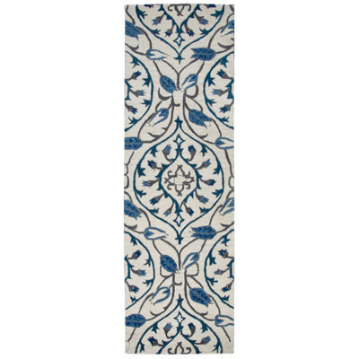 Rizzy Home Valintino Ornamental Rectangular Indoor Runner