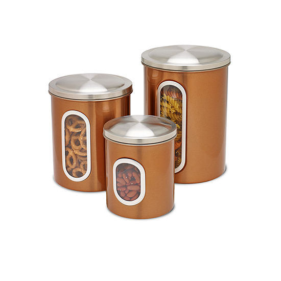 Honey Can Do 3 Pc Canister
