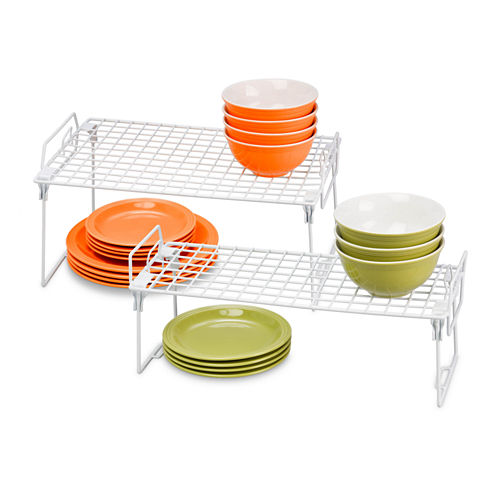 Honey-Can-Do 2-pc. Kitchen Organizer Rack Kit