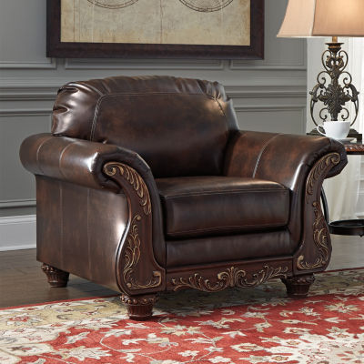 Signature Design By Ashley® Vanceton Faux Leather Chair