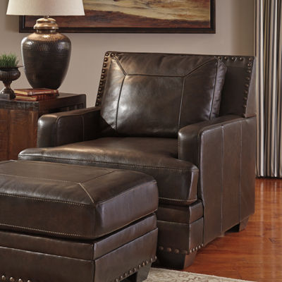 Signature Design by Ashley® Corvan Faux Leather Chair