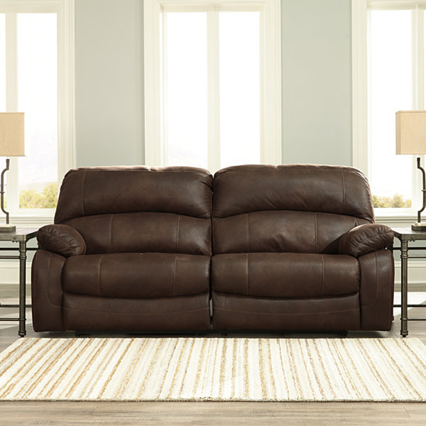 Black Leather Sofa Jcpenney: Ashley Reclining Sofa Best Furniture Mentor Oh Ashley
