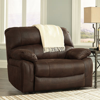 Signature Design by Ashley® Zavier Wide Seat Power Recliner
