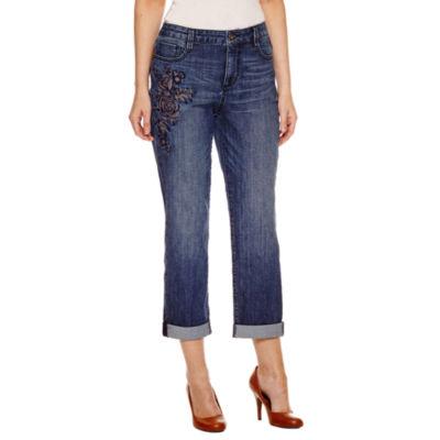 St. John's Bay Boyfriend Fit Jeans