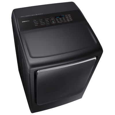 Samsung ENERGY STAR® 7.4 cu. ft. Smart Wi-Fi Enabled Capacity Electric Dryer with Integrated Touch Controls