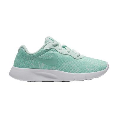 Nike Tanjun Print Girls Running Shoes - Little Kids