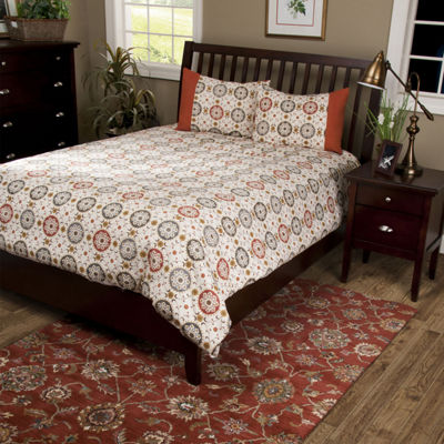 Rizzy Home Axel  Medallion  3 Piece Comforter Set