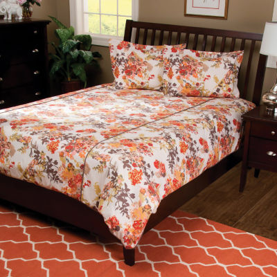Rizzy Home Jazlyn  Floral  3 Piece Comforter Set
