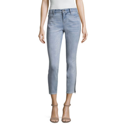 Project Runway Size Zipper Skinny Jeans