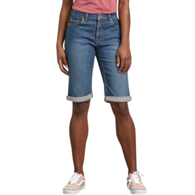 Dickies Misses Perfect Shape Denim Bermuda Short